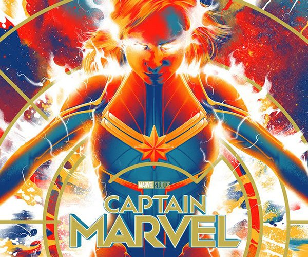 Mondo Captain Marvel Posters & Pins