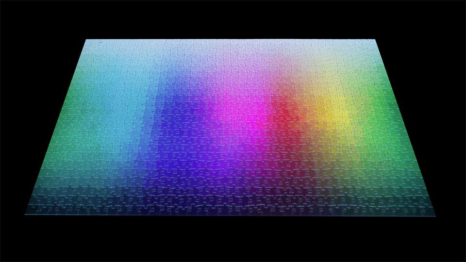 Clemens Habicht's Color Puzzles