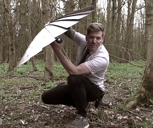 Colin Furze's Fold-out Shield