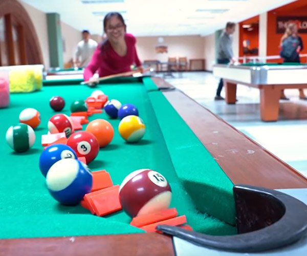Domino Pool Trick Shots