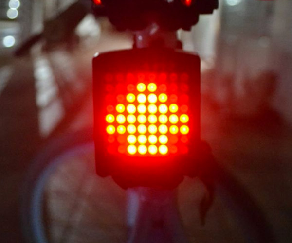 Dot Matrix Bike Light