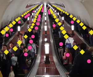 Escalator Etiquette is Inefficient