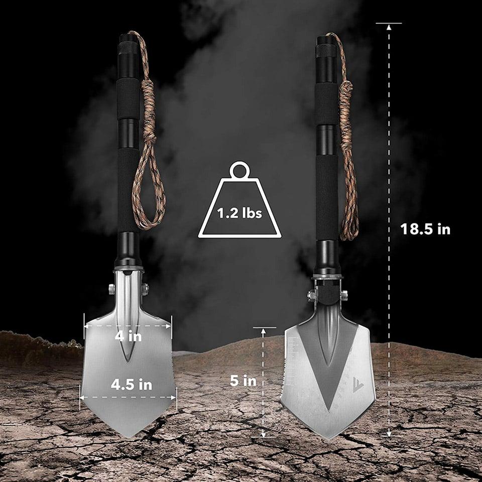 FiveJoy C1 Folding Shovel