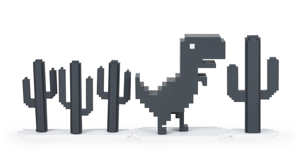 Google Chrome Dinosaur Set