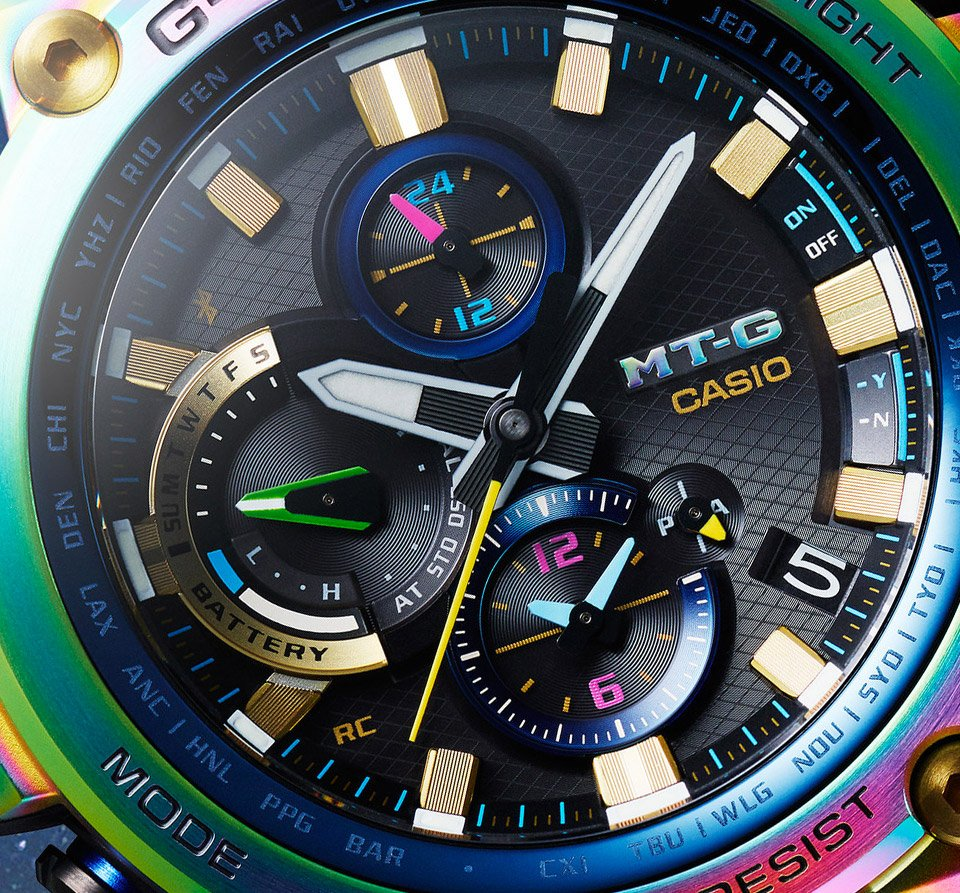 Casio G-SHOCK MT-G Rainbow
