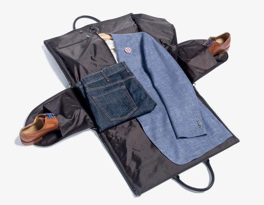Hook & Albert Garment Weekender Bag