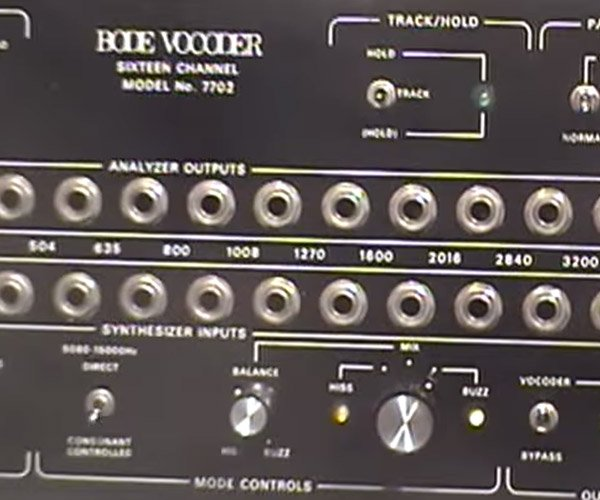 How to Sell a Vocoder