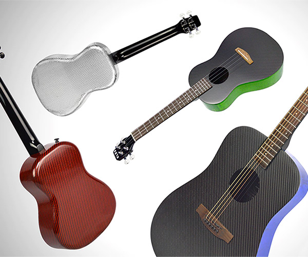 KLŌS Carbon Fiber Ukes and Guitars
