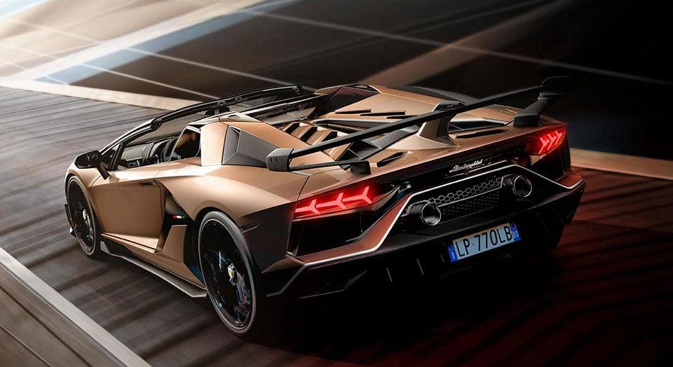 Lamborghini Removes The Roof Of The Aventador Svj And No More