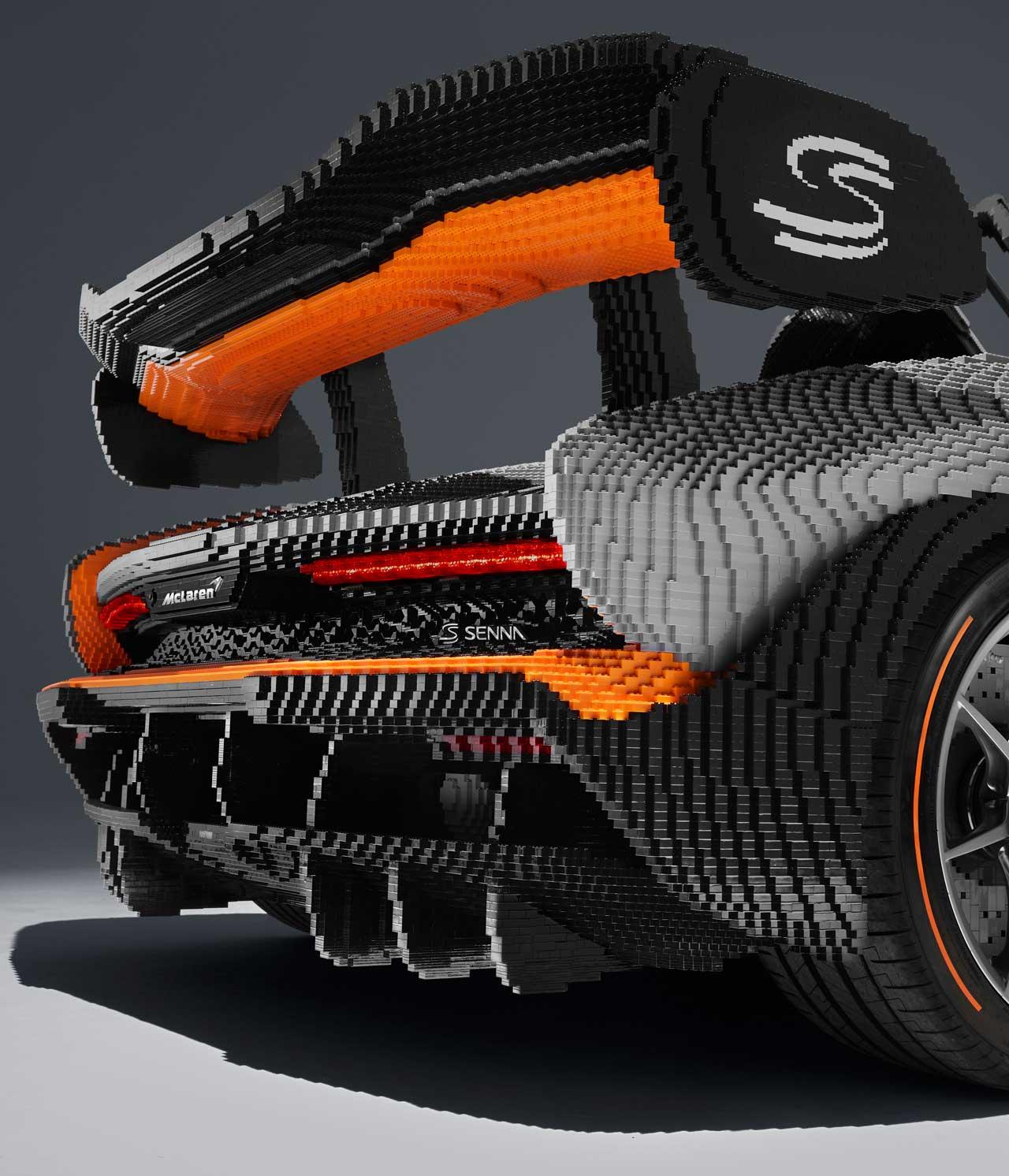 LEGO Life-Size McLaren Senna