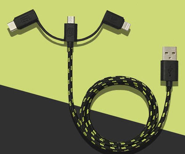 Triton 3-in-1 Cable