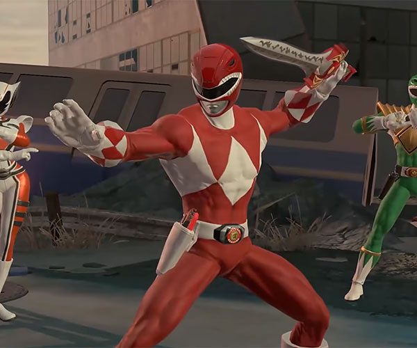 Power Rangers Battle Grid (Gameplay)