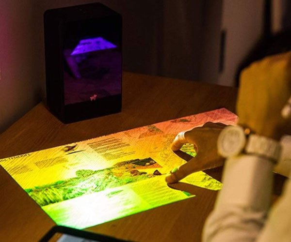 Puppy Cube Touchscreen Projector