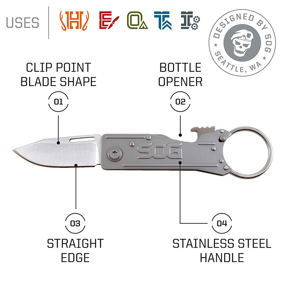 SOG Keytron 1 Folding Knife
