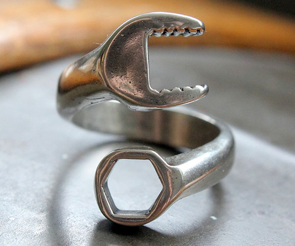 Spanner Wrench Wrap Ring