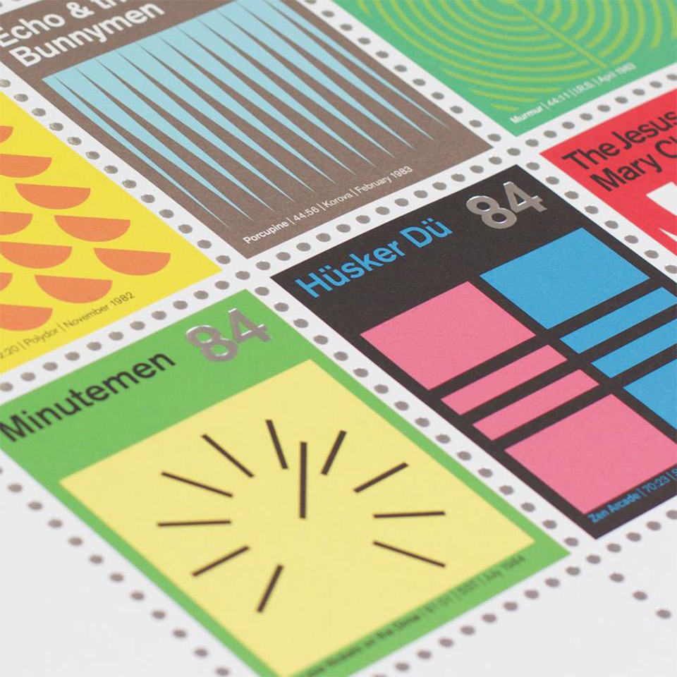 Stamp Album Prints