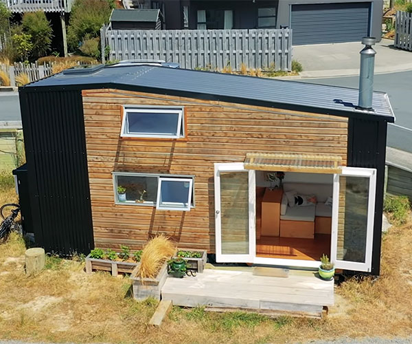 Tiny House with Large TV Loft