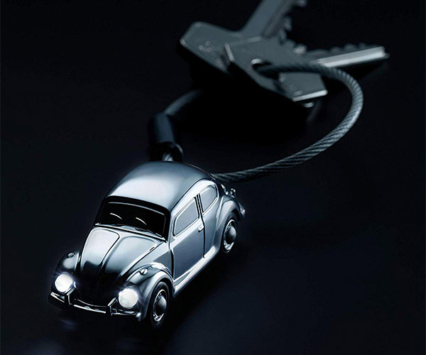 VW Bug Keyring Light