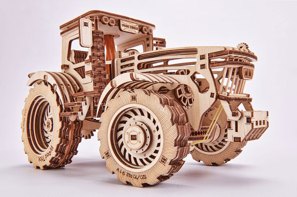Wood Trick Mechanical Puzzles
