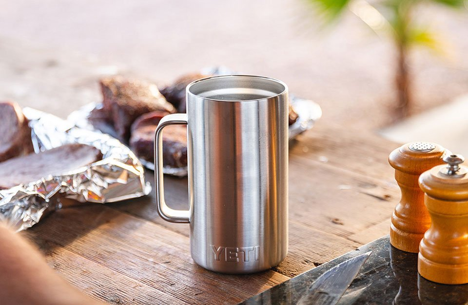 Yeti's Insulated and Durable Rambler Mug Now Comes in 24oz