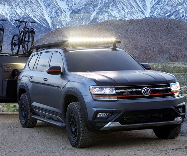 Volkswagen Atlas Basecamp Concept