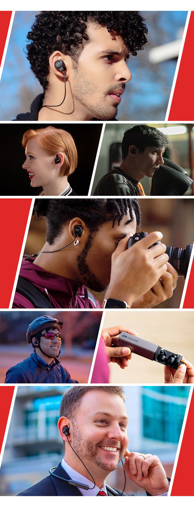 AirLoop Earphones