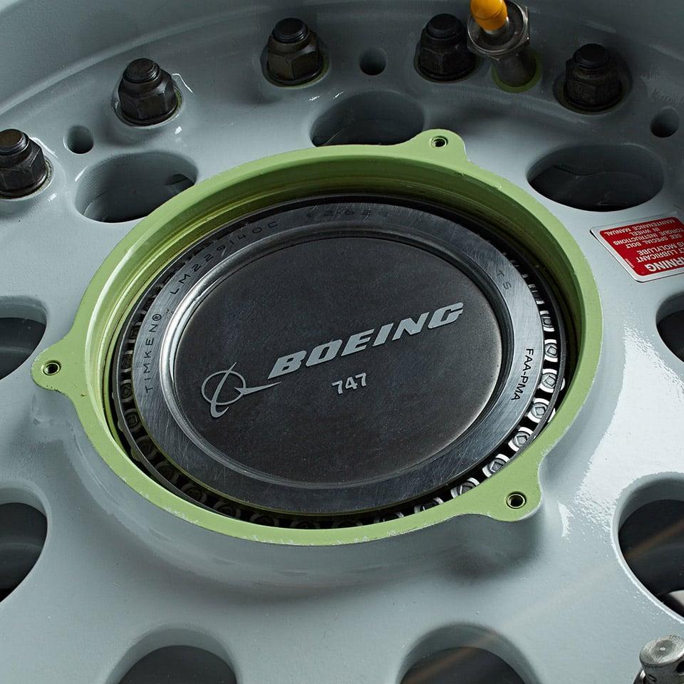 Boeing Wheel Coffee Table