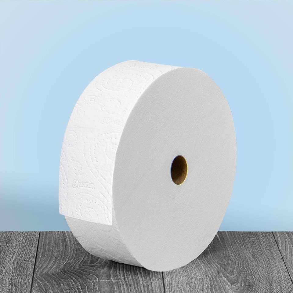 The Humongous Charmin Forever Roll Tissue Paper Lasts Up