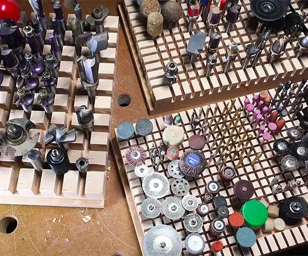 DIY Dado Bit Organizer