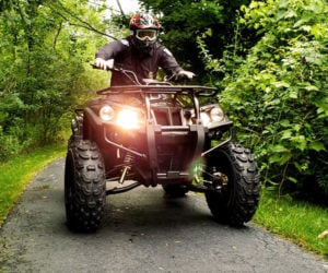 DRR Stealth Electric ATV