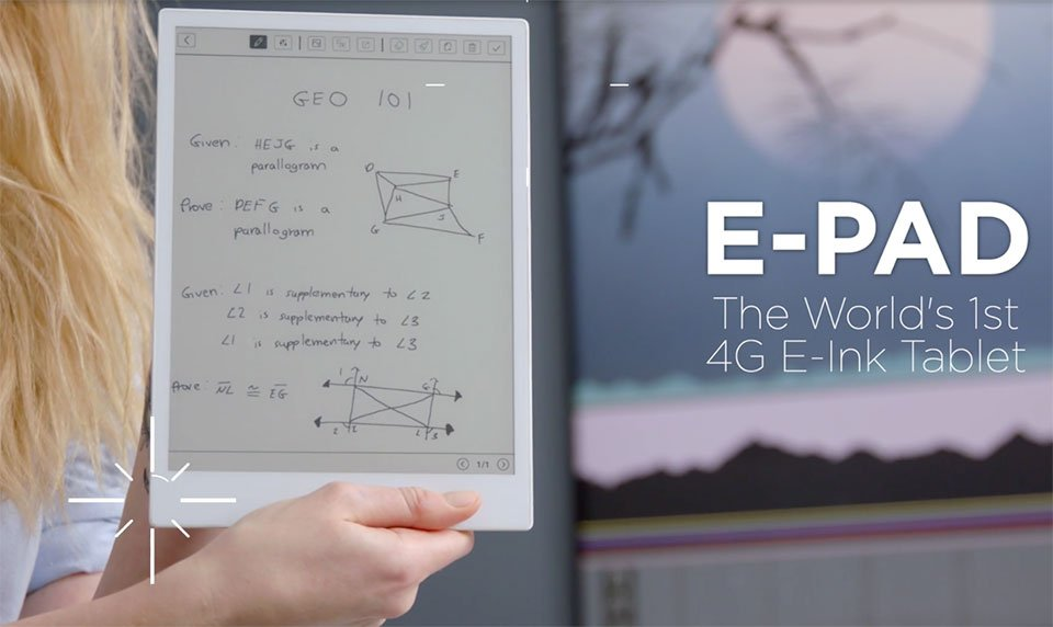 E-Pad E-ink Android Tablet