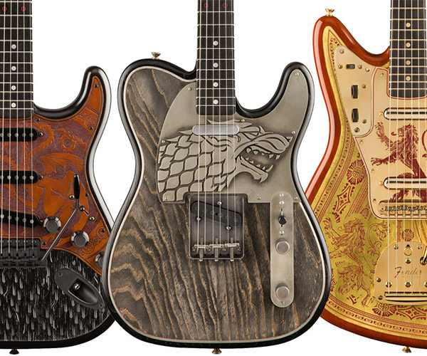 Fender x Game of Thrones Guitars