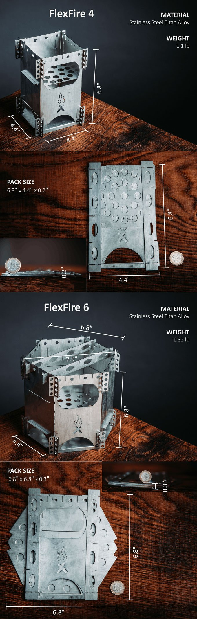FlexFire Camping Stove