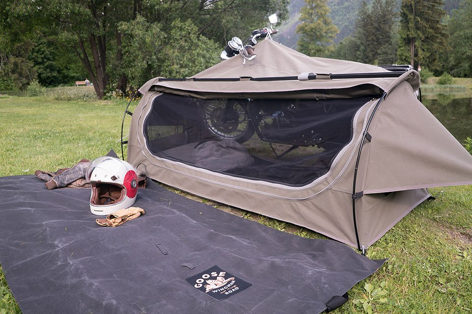 Goose Motorcycle Camping Tent