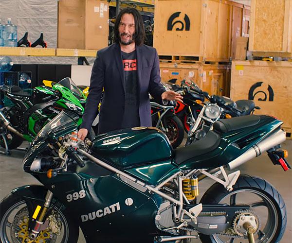 Keanu Reeves' Prized Motorcyles