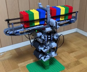 LEGO Tower Climbing Machines