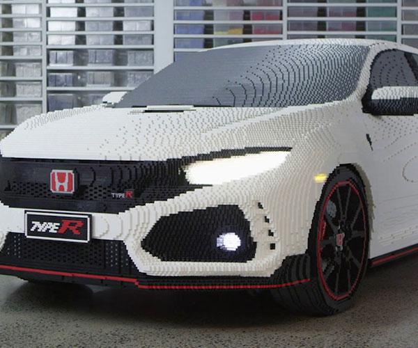 LEGO Life-Size Honda Civic Type R