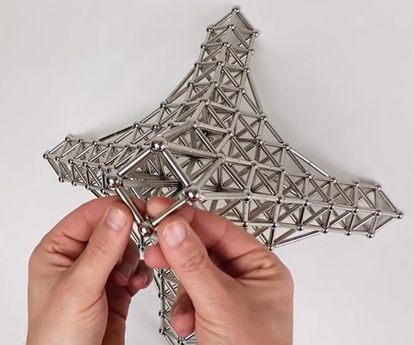 Building a Magnetic Eiffel Tower
