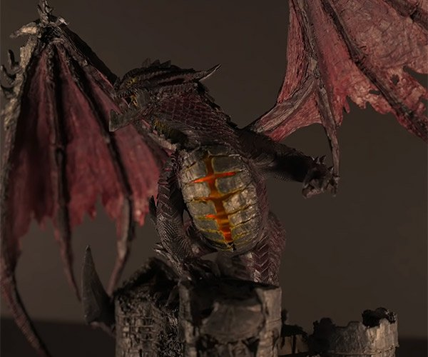 Making Deathwing with a 3D Pen