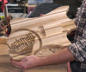 Making a Pallet Wood Guitar