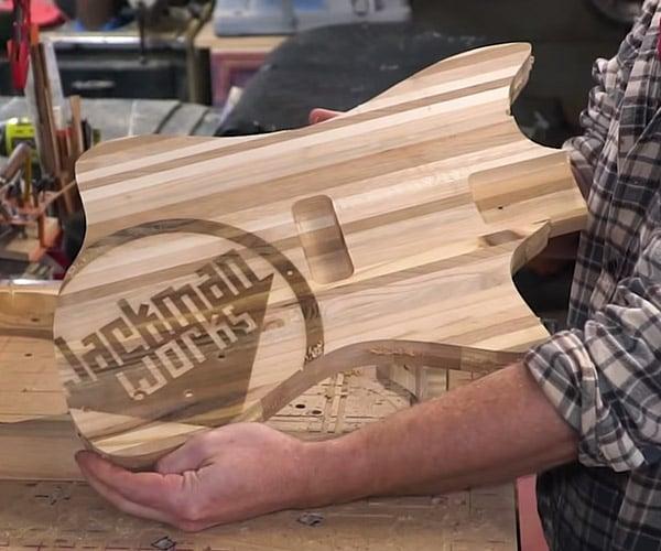 Making a Pallet Wood Guitar