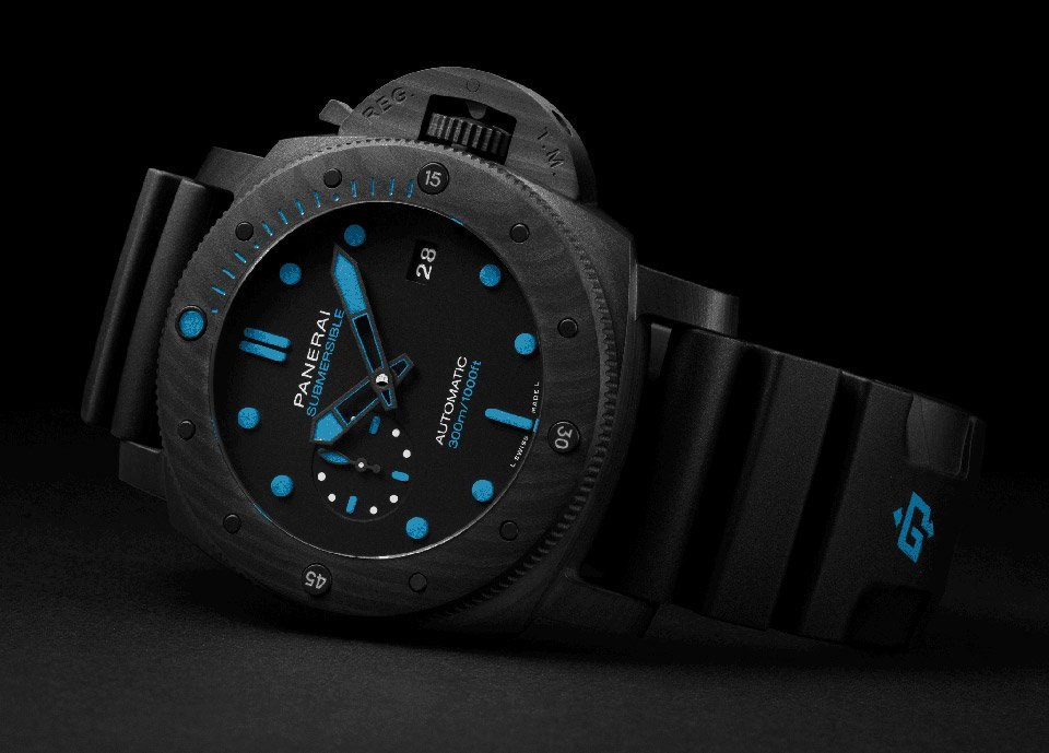 Panerai Submersible Carbotech Watch