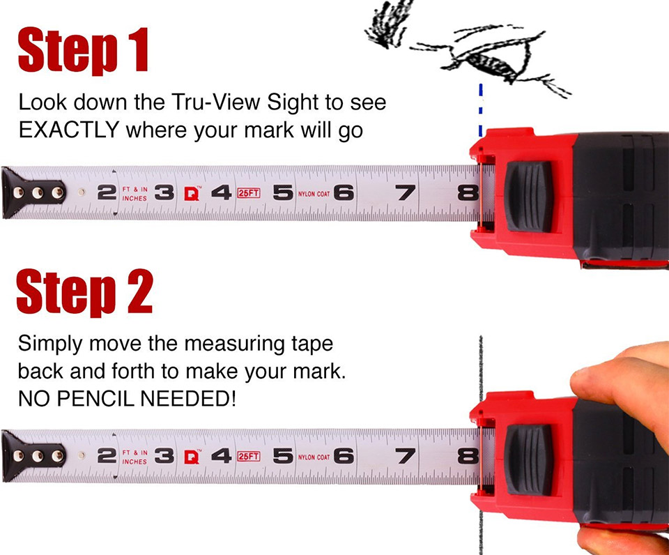 Quickdraw Pro Tape Measure