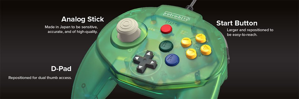 Tribute64 Retro Controller