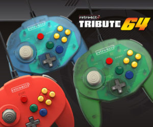 Tribute64 Retro Controller