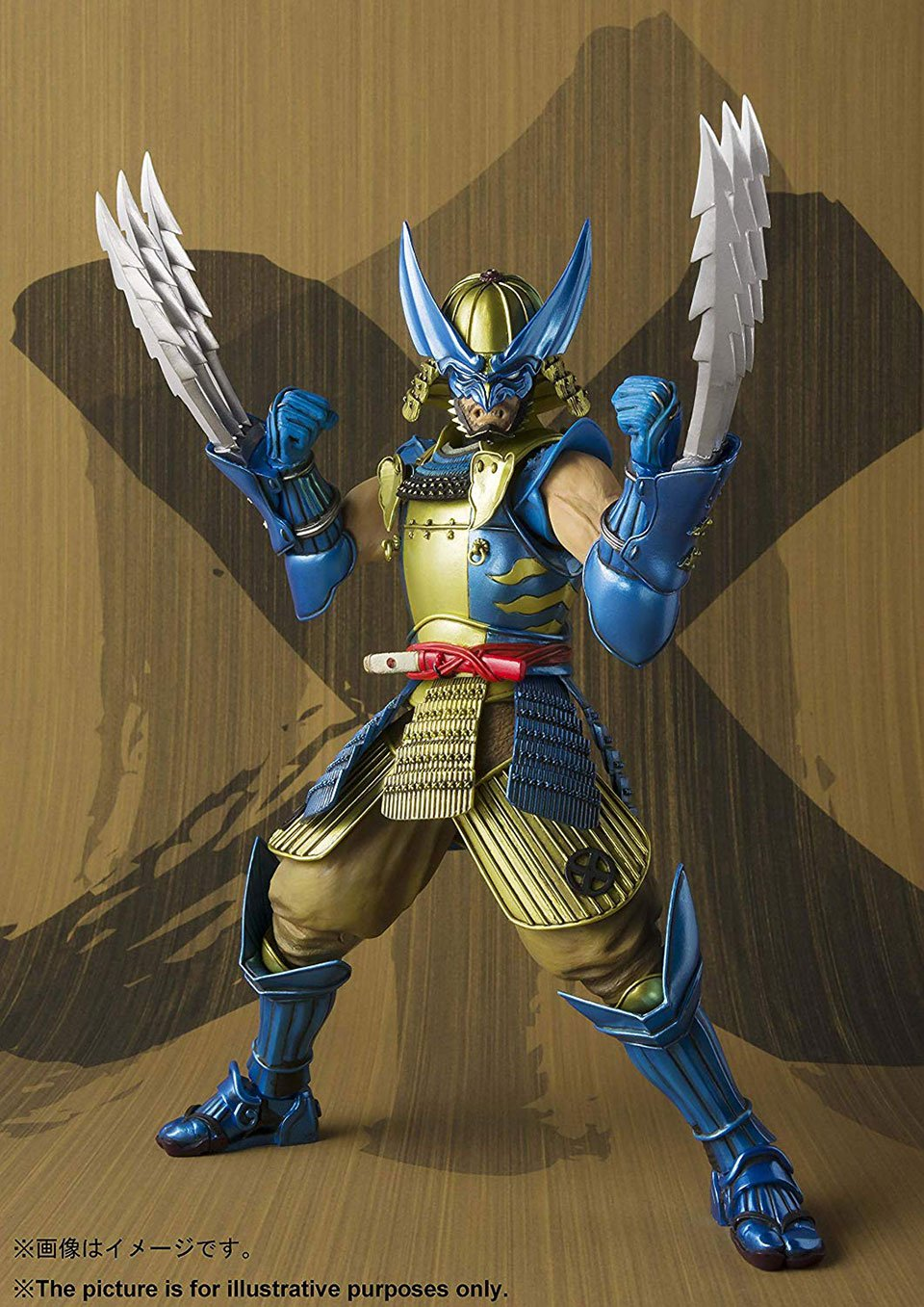 Bandai Turned Wolverine into a Samurai in This Badass Action Figure