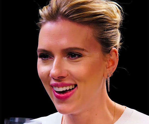 Scarlett Johansson vs. Hot Wings