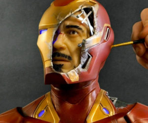 Sculpting Iron Man/Tony Stark