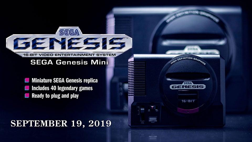 SEGA Genesis Mini Retro Console