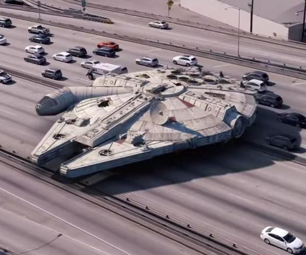 Star Wars Ships on Earth